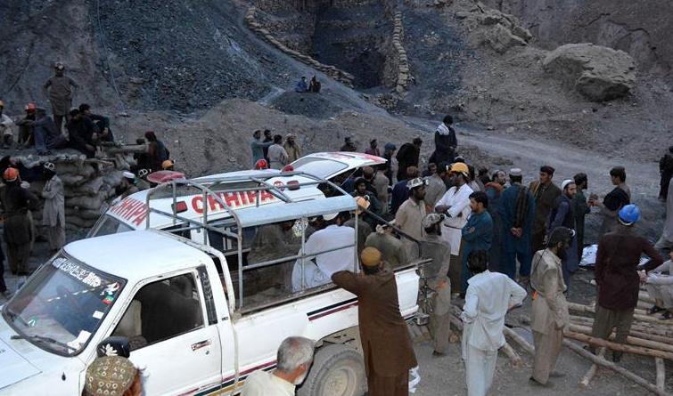 巴基斯坦两处煤矿发生矿难致18人死亡