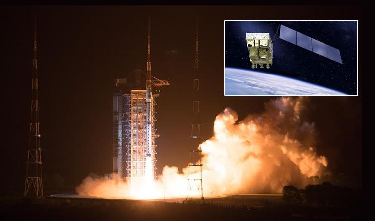 我国成功发射高分五号卫星 可探大气污染物