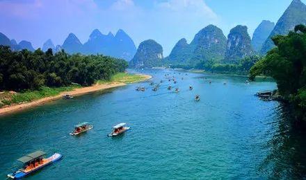 桂林漓江排筏今年首次全线封航