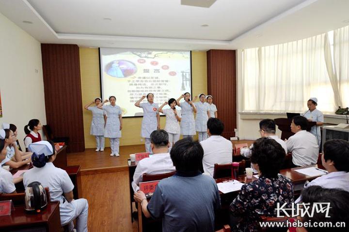 """邯郸市第三医院举行""""护士的一天""""主题演讲比赛"""