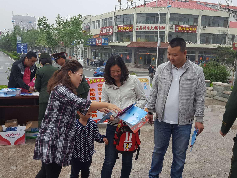 抚宁:联合区消防支队开展防灾减灾日科普宣传活动