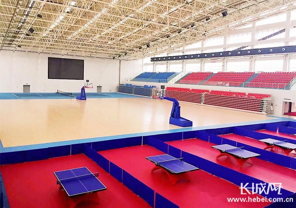 雄安新区容城市民体育运动中心对外免费开放