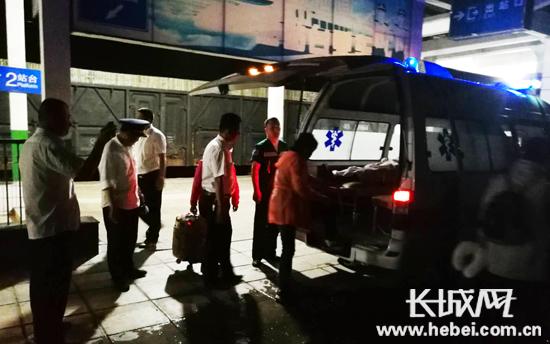 85岁高龄旅客突发心脏病 列车临时停车