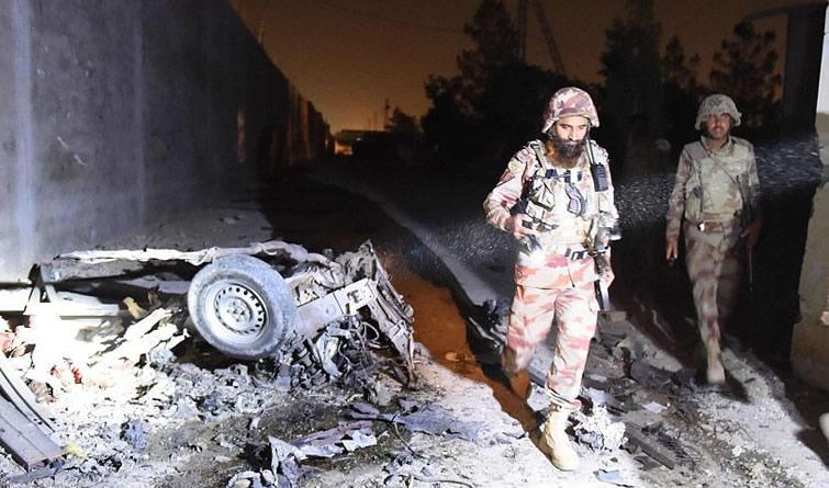 巴基斯坦军方挫败一起恐怖袭击 击毙五名自杀式袭击者