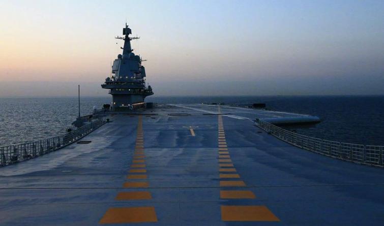 祝贺!我国第二艘航母完成首次海试