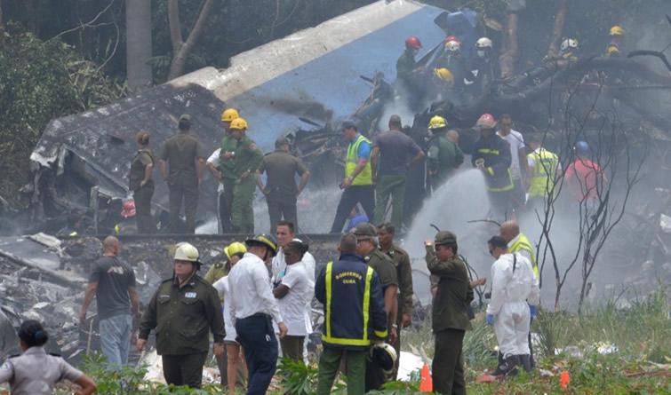 古巴一架载有114人波音737客机坠毁 百余人遇难