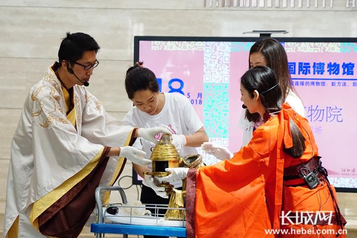 河北博物院2018年国际博物馆日系列活动精彩呈现