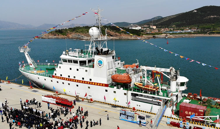 行程近4万海里!中国首次环球海洋综合科考任务凯旋
