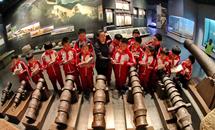 秦皇岛小学生走进博物馆
