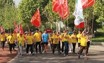 百万人徒步游览唐山南湖大美