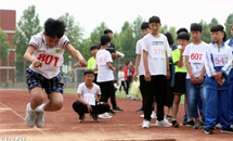 任县:首届中小学田径趣味运动会