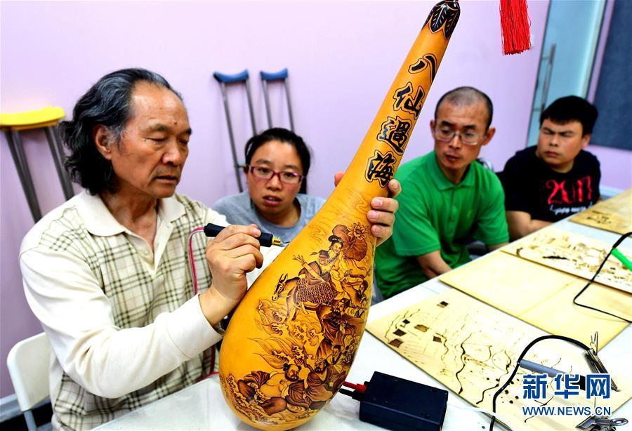 河北廊坊:技能培训造福残疾人