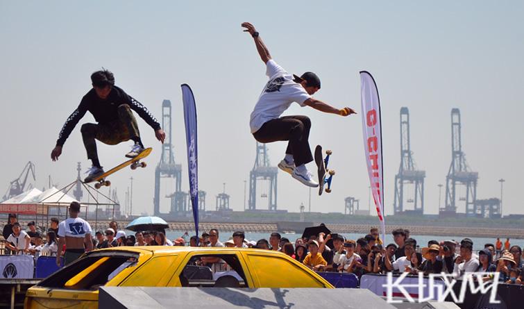 秦皇岛举办原力街头滑板系列公开赛