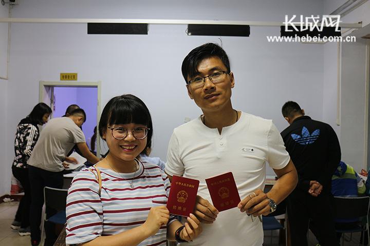 """""""521""""网络情人节备受追捧 衡水新人扎堆领证"""