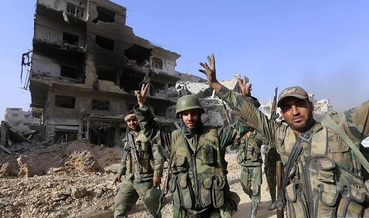 叙政府军宣称完全收复大马士革 IS最后据点被清除