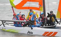 """学习帆船知识 体验""""乘风破浪"""""""