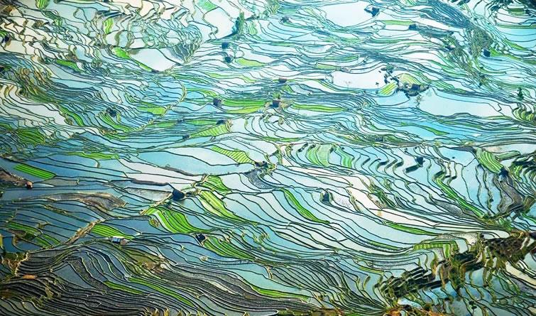 每一张都是壁纸!外媒评最佳航拍中国照片