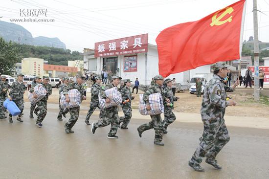 涉县组织开展防汛实战演练