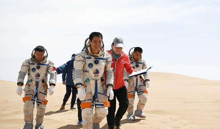 收官!我国成功组织航天员沙漠野外生存训练