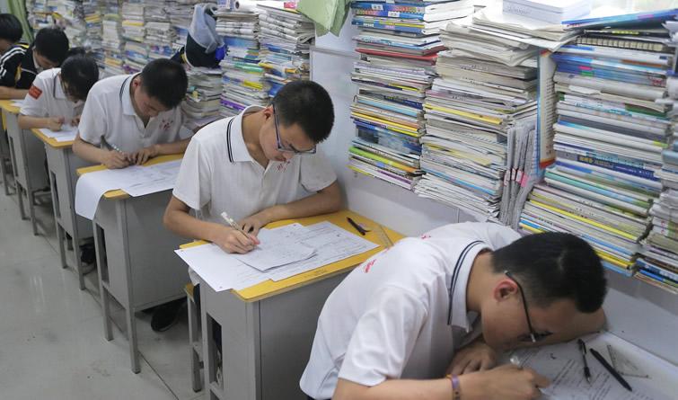 距高考仅剩10天 加油!同学们!