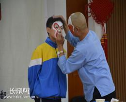 """邢台市第十中学举办""""戏曲进校园""""活动"""