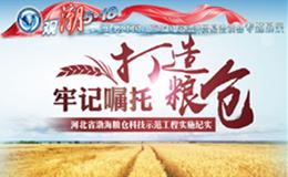牢记嘱托 打造粮仓—河北省渤海粮仓科技示范工程实施纪实