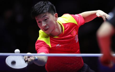 马龙获中国乒乓球公开赛男单冠军