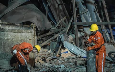 辽宁本溪一铁矿炸药爆炸已致11人死亡