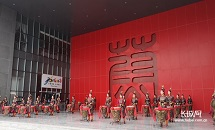 中国剪纸艺术节蔚县开幕
