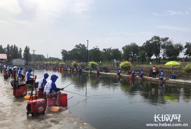 2018年中华垂钓大赛在献县举行