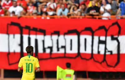 拥有最强攻击组合的巴西队