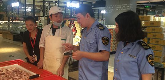 迁安市市场监督管理局 护航端午食品市场秩序