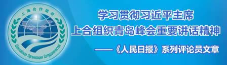 学习贯彻习近平主席上合组织青岛峰会重要讲话精神