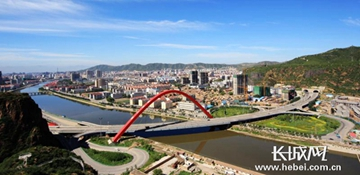 张家口市大力推进绿色城镇体系建设工作
