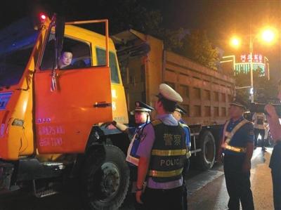 邯郸市主城区整治建筑垃圾运输车辆