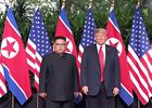 美朝领导人新加坡会晤