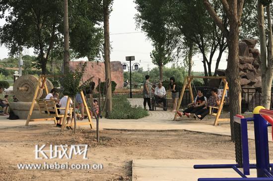 昔日煤场变公园 邯郸复兴区打响乡村生态环境保卫战