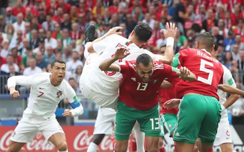 世界杯|C罗闪击进球 葡萄牙小胜摩洛哥