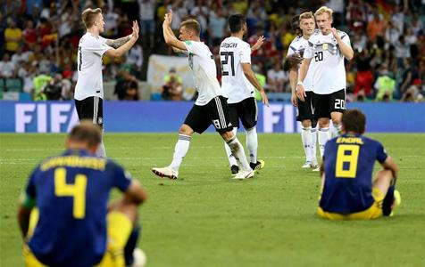 德国绝杀瑞典:绝处逢生 惊心动魄!