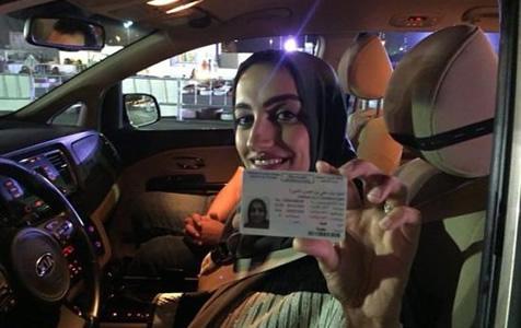 沙特正式开放女性驾车