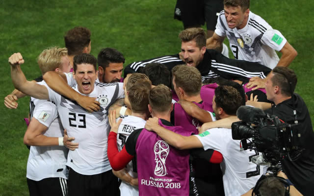 动感世界杯|德国绝地反击胜瑞典