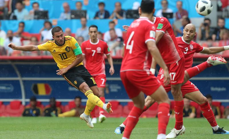 动感世界杯丨比利时5比2突尼斯 创开赛最大比分