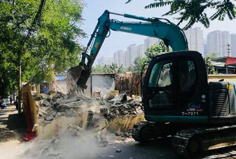 路南区强力推进新刘庄区域棚改工作