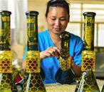 特色工艺玻璃制品远销海外