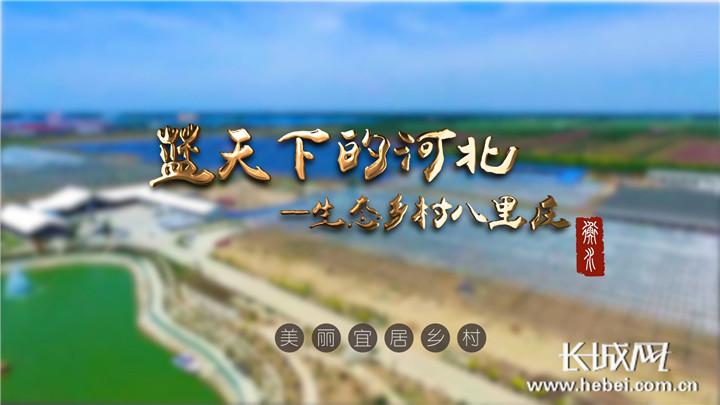[蓝天下的河北]农村人居环境整治范本八里庄:住联排别墅 享绿水花香