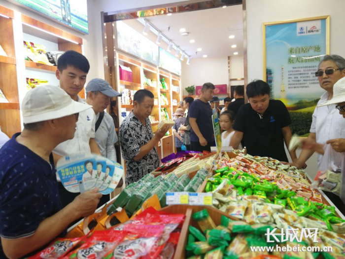 唐山首家航天食品超市正式落户