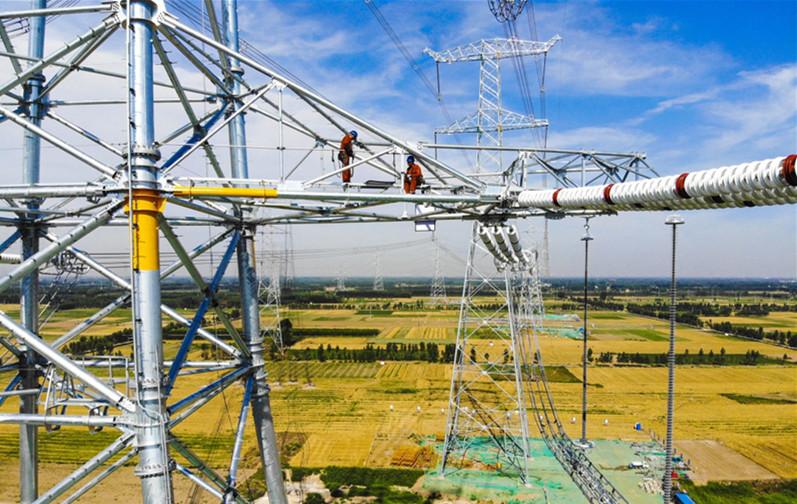 100%清洁化 雄安新区首个大型电网建设工程投入运营