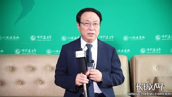 吴以岭:倡导养生八字经提高人民健康水平