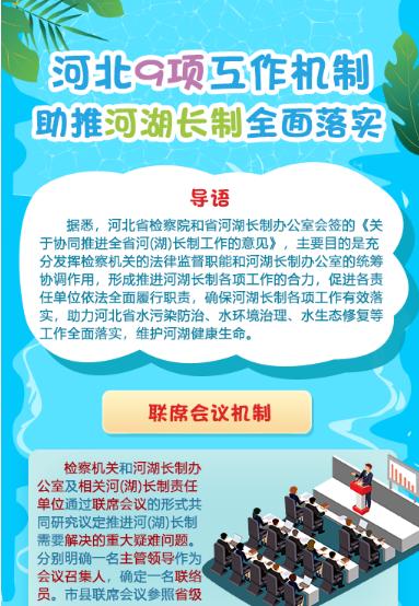 【发布会图解】河北9项工作机制助推河湖长制全面落实