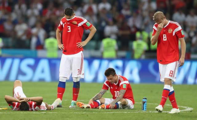 世界杯|东道主俄罗斯队点球惜败止步八强